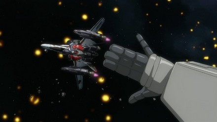This is a homage to Isamu from Macross Plus :)