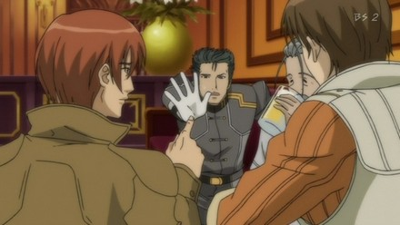 He smuggles military supplies to various merchants, including Miranda.