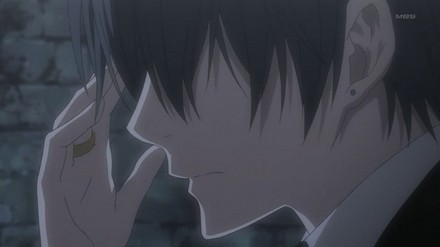 "Ciel: ""Will it hurt?"" Sebastian: ""Yes, a little. I'll keep it as gentle as possible."""