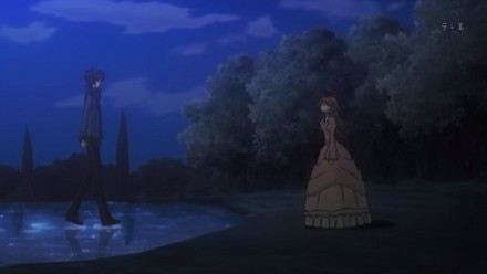 Oh my! Meeting Kelpie all alone at night all alone.  How improper Lydia!