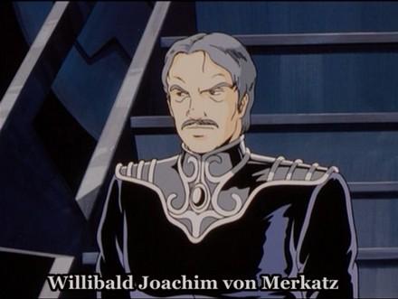 Merkatz is voiced by Goro Naya (Inspector Zenigata)