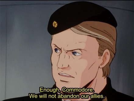 Yes, allies are important, but this commander lacks global vision.
