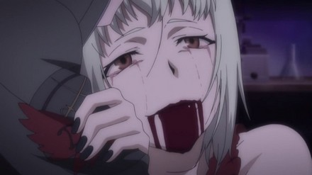 Although she is an evil character, the scene was sad...