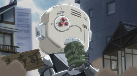 Right... we need more mecha in Kuroshitsuji :P