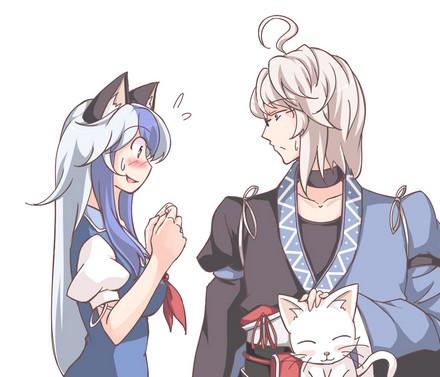 kamishirasawa keine and morichika rinnosuke_00006