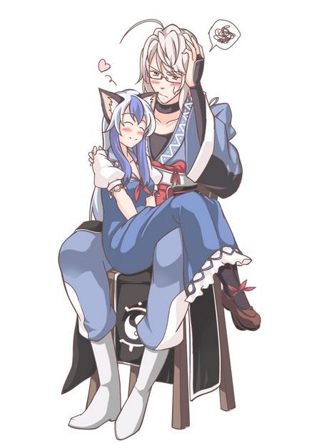 kamishirasawa keine and morichika rinnosuke_00014
