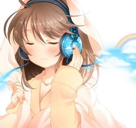 httpcelestialkitsune  Anime Music Headphones